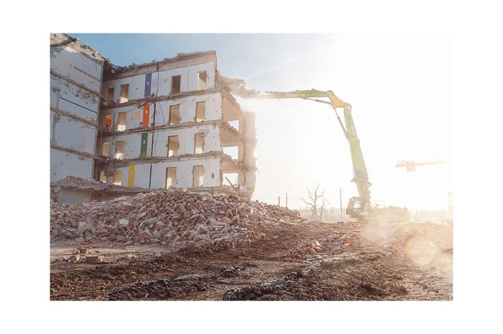 Baustellenfotografie steinbachONE Stuttgart Libare
